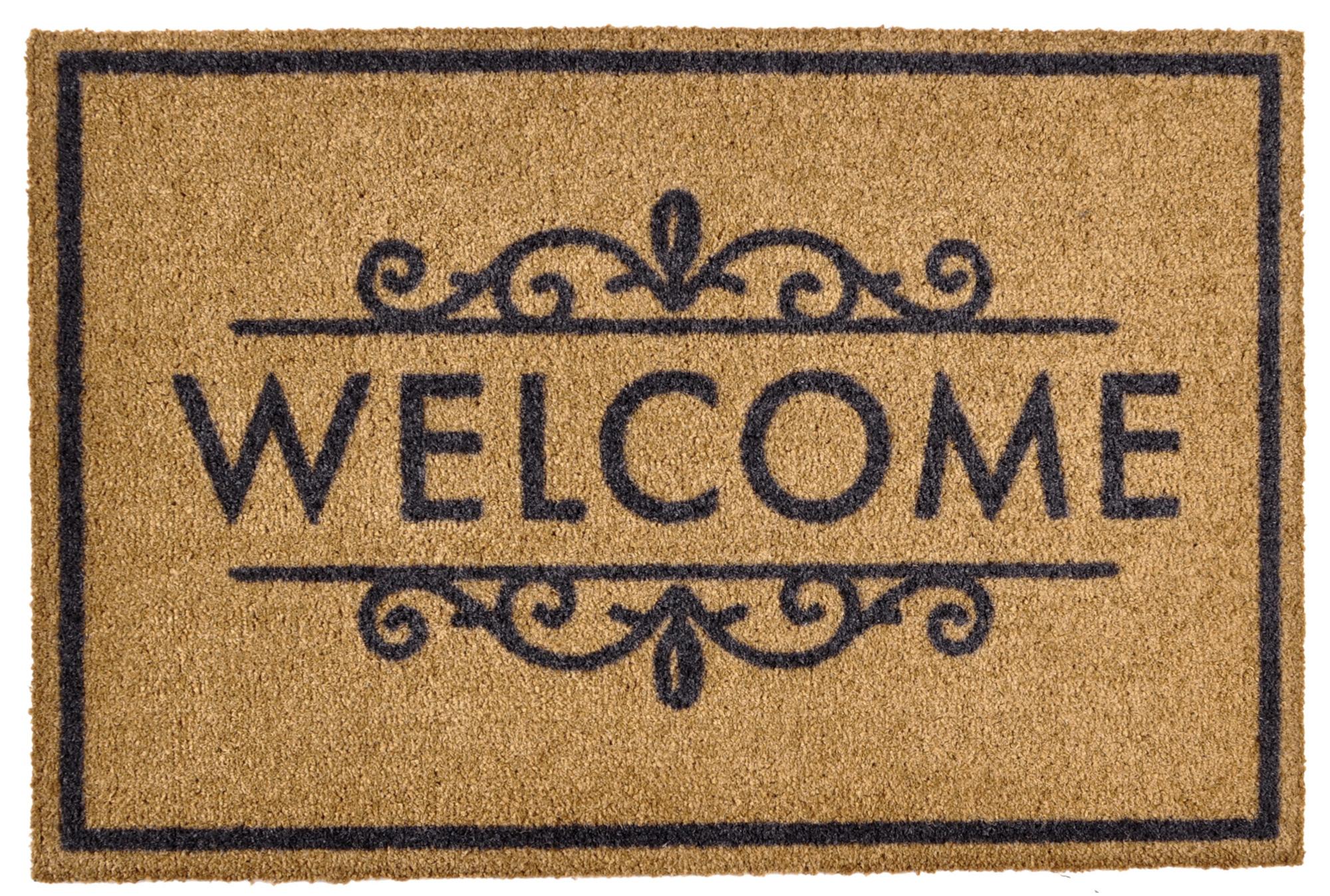 Populair Het Kompas Woninginrichting   deurmat-welcome AL89